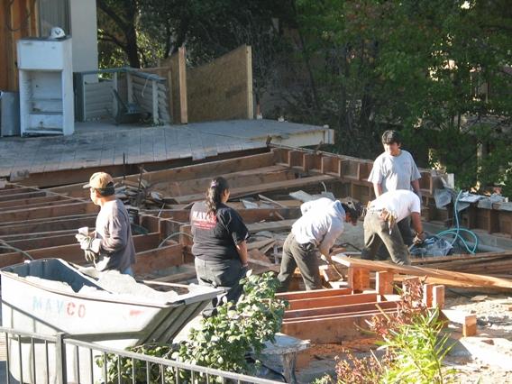 Deconstructing 1st floor (floor-joists)