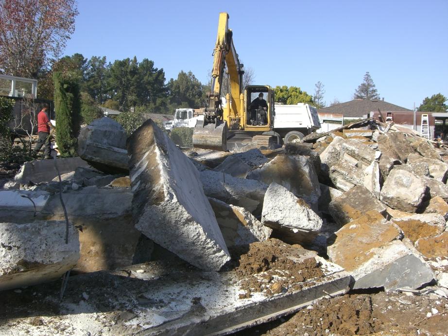 Hillsborough (Foundation Demolition)