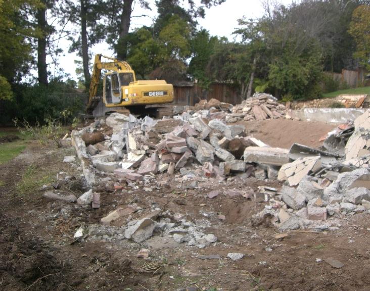 Foundation Demolition