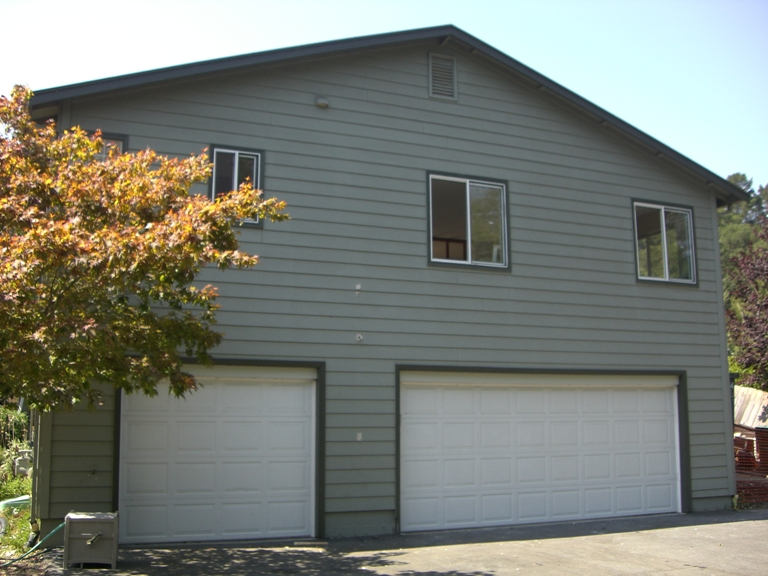 Pre-Deconstruction (Garage)